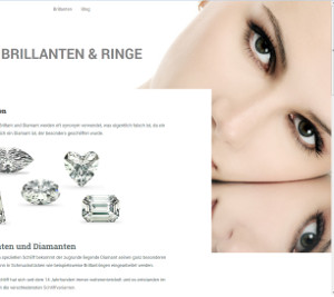 Scrennshot von brillant-ringe.de